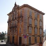 Voorbeeld Jugendstil ofwel Liberty bouwstijl in Serina in de Valle Brembana