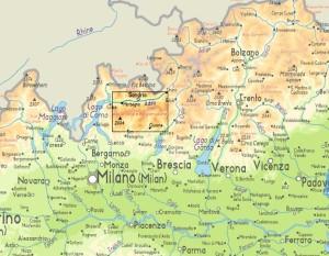 locatie Orobische Alpen