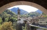 Vakantie, bestemming, Noord-italie, Alpen, Averara