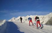 wintersporten, noord-italie, langlaufen, italiadesso.